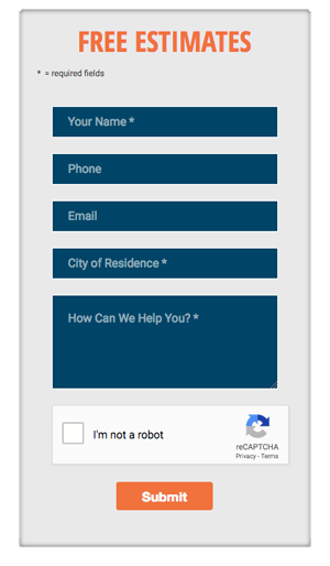 Website contact forms